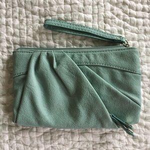 Elle clutch purse